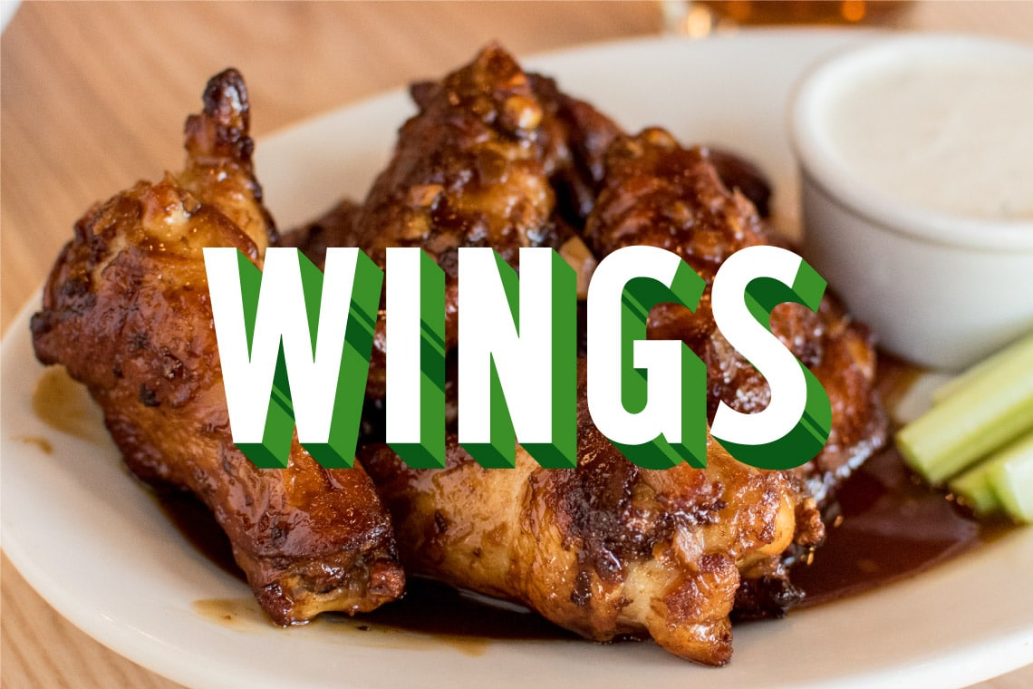 Wings are the #3 Most Ordered Food on EatStreet!